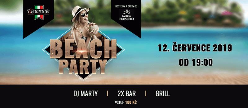 BEACH PARTY – 12.7.2019